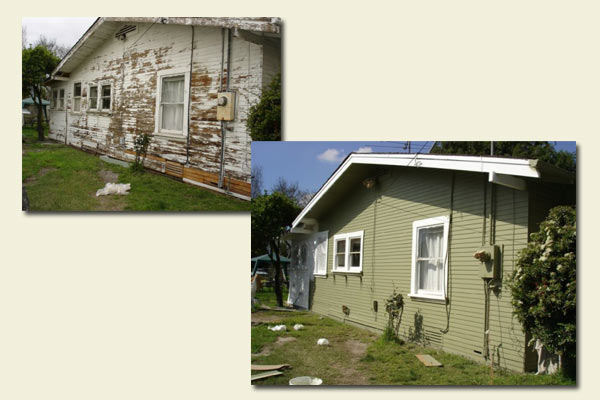 Miller construction services inc time to make old new for Miller exterior paint